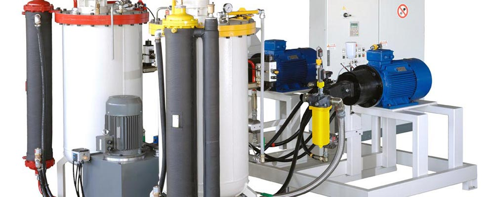 QS Group Polyurethane Division - Foaming Machines